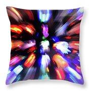 Blinky The Star Throw Pillow