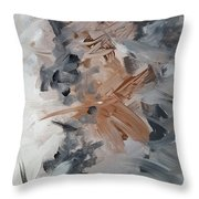 Bliss #3 Throw Pillow by KR Moehr