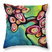 Bliss And Detachment Throw Pillow