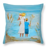 Blissful Day Throw Pillow