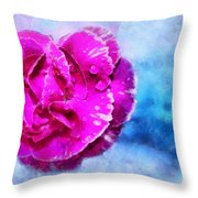 Blissful Pink Throw Pillow