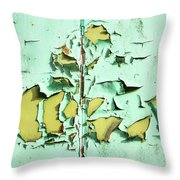 Blistered Paint Throw Pillow