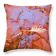 Blood And Sand  Throw Pillow