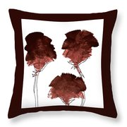 Blood Flower Part2 Throw Pillow