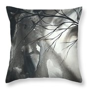 Blood Of The Moon 1 By Madart Throw Pillow