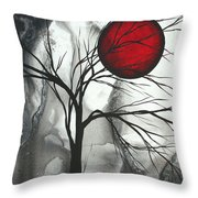 Blood Of The Moon 2 By Madart Throw Pillow