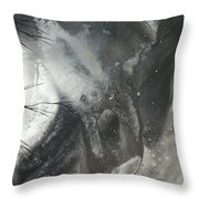 Blood Of The Moon 3 By Madart Throw Pillow