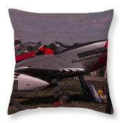 Blood Sweat And Years Throw Pillow
