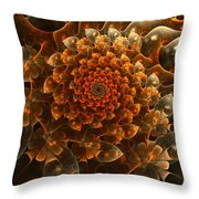 Bloom Of Beauty Throw Pillow
