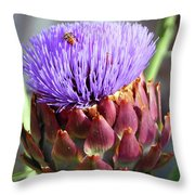 Bloomin Artichoke Throw Pillow