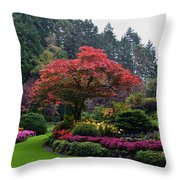 Bloomin' Lovely Throw Pillow