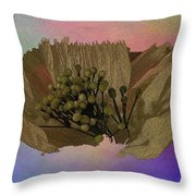 Blooming 2 Throw Pillow