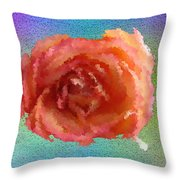 Blooming 4 Throw Pillow