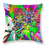 Blooming Delightful Throw Pillow