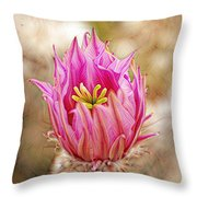 Blooming For You Throw Pillow