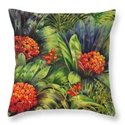 Blooming Gorgeous Throw Pillow