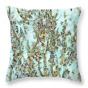 Blooming Passion Throw Pillow