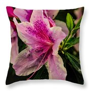Blooming Wet Throw Pillow