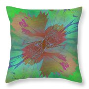 Blooms In The Mist Throw Pillow