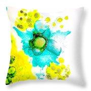 Blooms Throw Pillow