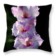 Blooms On A Stick Throw Pillow