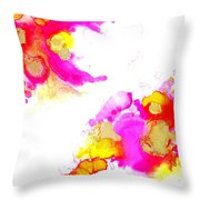 Blooms1 Throw Pillow