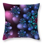 Bloomy Throw Pillow