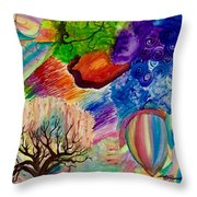 Bloons Throw Pillow