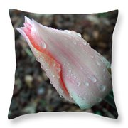 Blossom Drops Throw Pillow