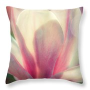 Blossom Flares Throw Pillow by Louis Rivera