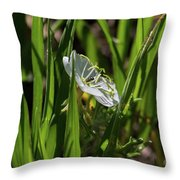 Blossom Found Throw Pillow