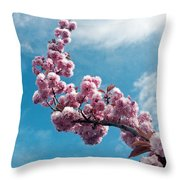 Blossom Impressions Throw Pillow