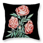 Blossom In High Spirit #3 Throw Pillow