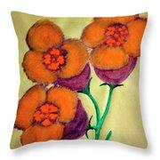 Blossom In High Spirit #6 Throw Pillow