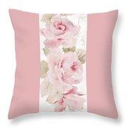 Blossom Series No.5 Throw Pillow