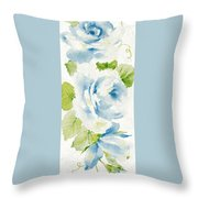 Blossom Series No.7 Throw Pillow by Writermore Arts