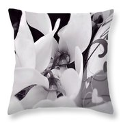 Blossoming Love Throw Pillow