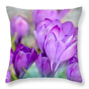 Blossoming Souls Throw Pillow
