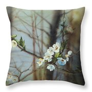 Blossoms In The Wild Throw Pillow
