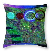 Blossoms Of Nonviolent Conflict Resolution Throw Pillow