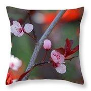 Blossoms Petite Throw Pillow