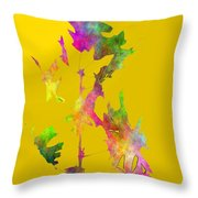 Blowin In The Wind 5 Throw Pillow