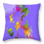 Blowin In The Wind 7 Throw Pillow