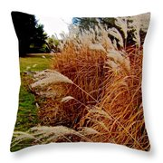 Whispering In The Winter Wind Throw Pillow