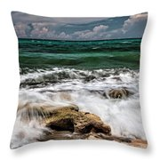Blowing Rocks Preserve  Throw Pillow