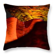 Blown Glass 3 Throw Pillow