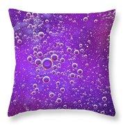 Blown Grape Throw Pillow