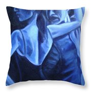 Bludance Throw Pillow
