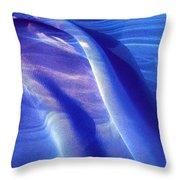 Blue 116 Throw Pillow