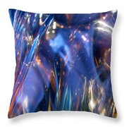 Blue 160 Throw Pillow